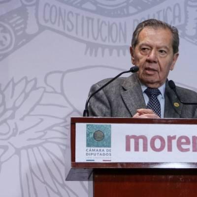Porfirio Muñoz Ledo irá por la Presidencia de Morena