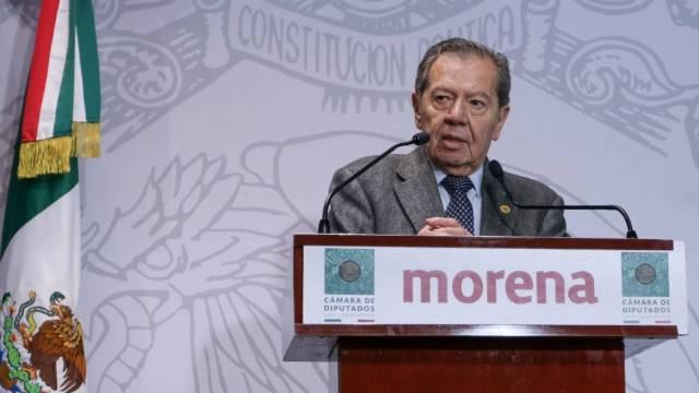 El diputado federal Porfirio Muñoz Ledo manifestó su interés en la Presidencia Nacional de Morena