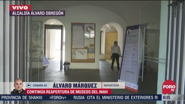 museo del carmen reabre tras cierre por covid
