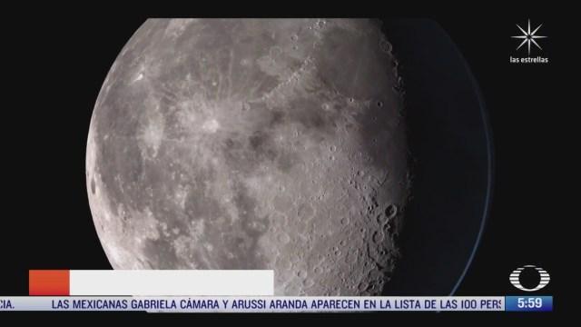 nasa publica impresionantes imagenes de la luna