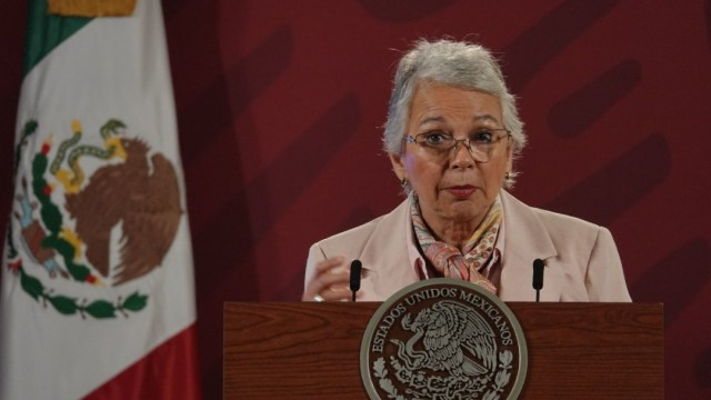 Olga Sánchez Cordero, secretaria de Gobernación