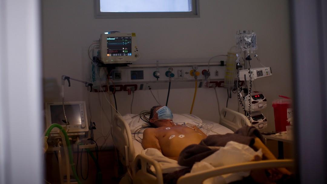 Paciente con COVID-19 en Argentina