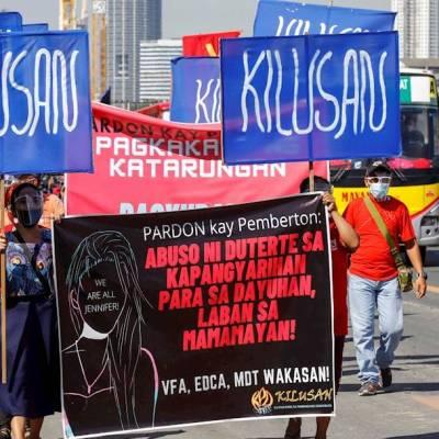Indignación en Filipinas por deportación a EEUU de soldado que asesinó a mujer trans