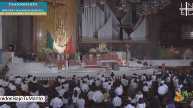 """Bajo el nombre """"Unidos a los pies de la Guadalupana"""", este sábado 19 de septiembre se realizó la primera peregrinación virtual a la Basílica de Guadalupe"""