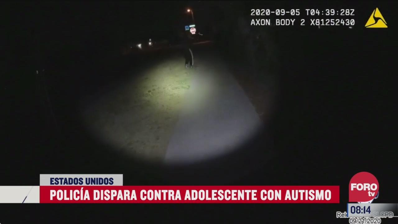 policias disparan contra adolescente con autismo