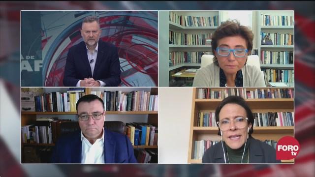 Leo Zuckermann, Ana Laura Magaloni, Sabino Bastidas y Blanca Heredia analizan el movimiento feminista en México