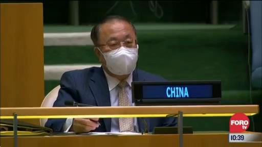 presidente de china pide no politizar lucha contra covid