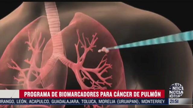 programa de biomarcadores para cancer del pulmon