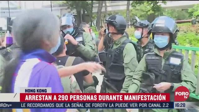 protestan contra por elecciones pospuestas en hong kong