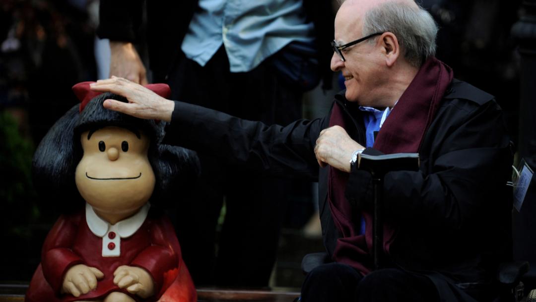 ¿Quién fue Quino, el gran artista que dio vida a Mafalda?