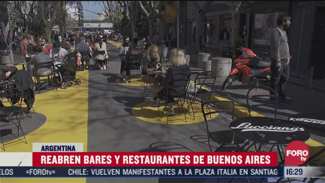 reabren bares y restaurantes en argentina