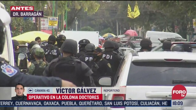 realizan segundo operativo contra narcomenudeo en colonia doctores