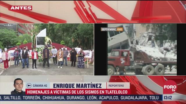 recuerdan en tlatelolco a victimas del edificio nuevo leon