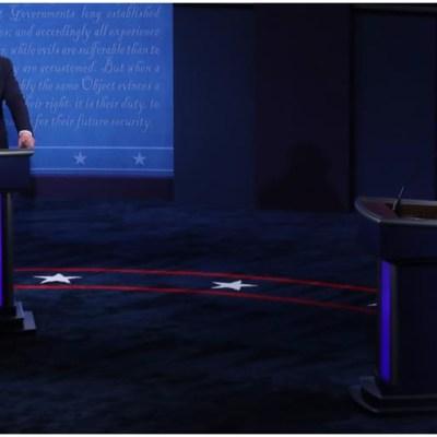 Los 8 momentos más importantes del primer debate presidencial en Estados Unidos