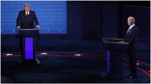 Resumen de los mejores momentos del primer debate presidencial de Estados Unidos
