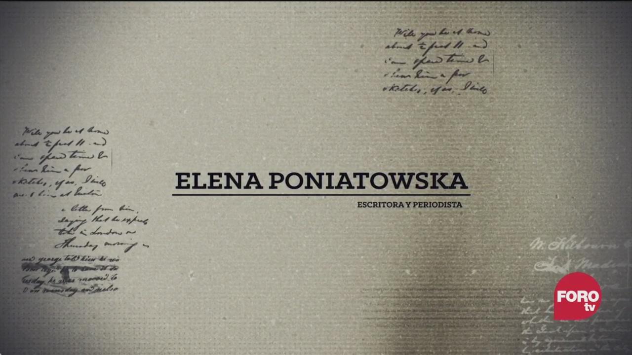 retomando a elena poniatowska