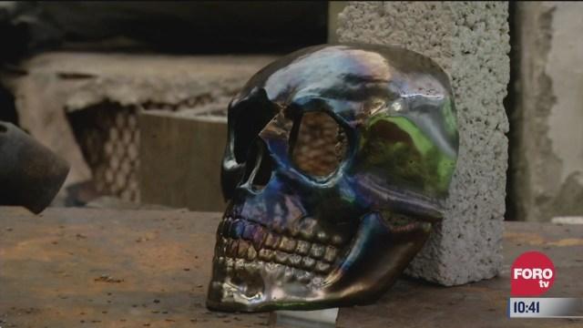 retratos de mexico elaboracion de las mascaras de metal