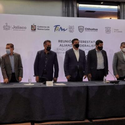 Reunión de la Alianza Federalista en la CDMX