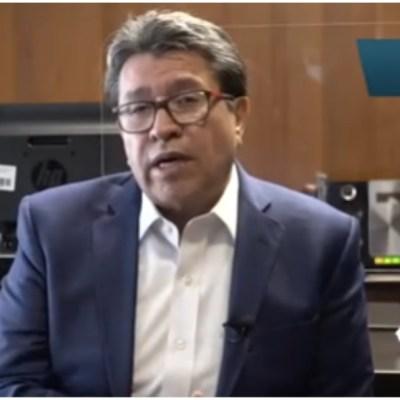 Ricardo Monreal lamenta salida de 10 gobernadores de la Conago