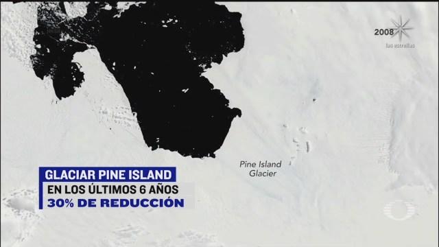 ritmo en que se derriten los glaciares de la antartida se quintuplica
