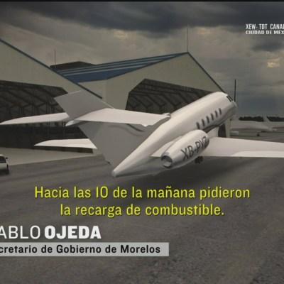 Se estrella en Guatemala jet robado en Cuernavaca, Morelos