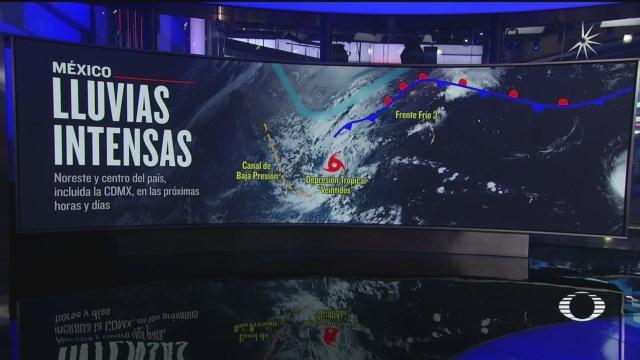 depresión tropical 22 en el Golfo de México