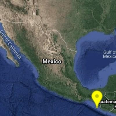 Se registra sismo de magnitud 4.6 se registra en Tapachula, Chiapas
