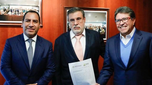 Senado recibe solicitud de AMLO para consulta sobre juicio a expresidentes