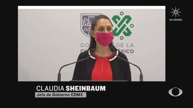 sheinbaum defiende contencion de la protesta feminista del lunes