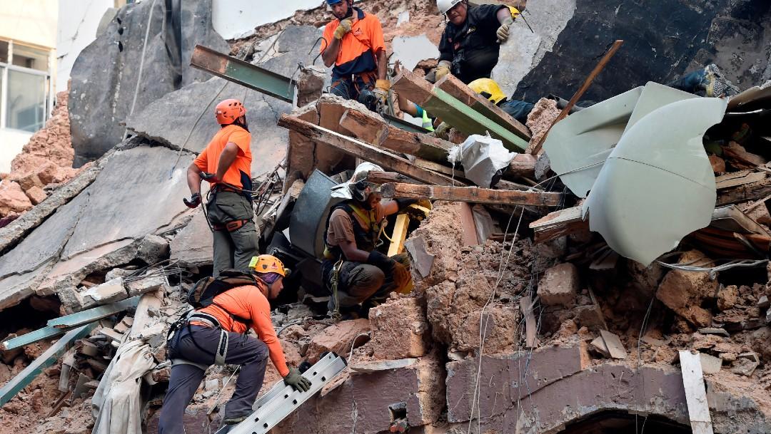 Sube a 191 la cifra de muertos por explosión en Beirut