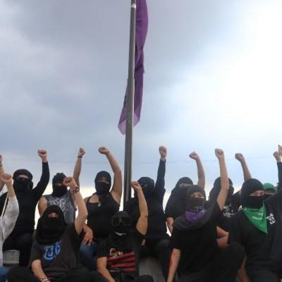 Surgen diferencias entre activistas que tomaron oficinas de la CNDH del Centro Histórico