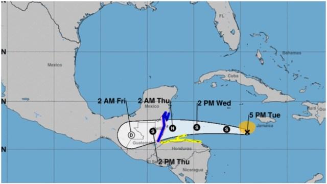 Tormentas tropicales Atlántico