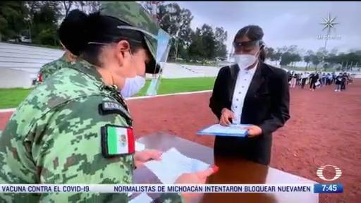 triquis haran una carrera universitaria en el colegio militar