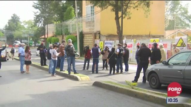 vecinos de bosques de tarango bloquean avenida centenario