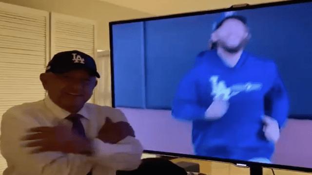 Julio Urías, el Valenzuela II, afirma AMLO tras el triunfo de los Dodgers