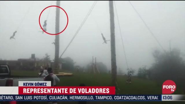 accidente del volador de papantla fue por la cuerda dice representante