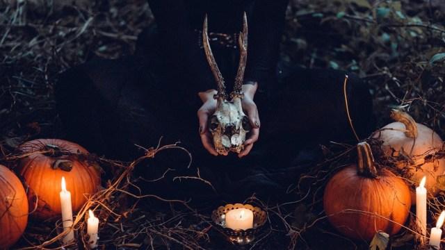 La macabra decoración de una casa con motivo de Halloween, movilizó a la policía de Dallas, Estados Unidos