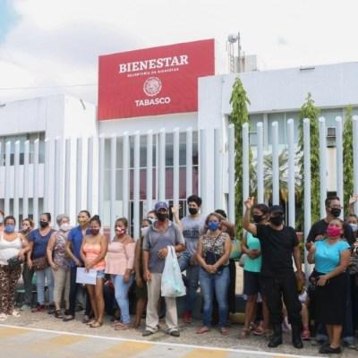 Afectados por inundaciones en Tabasco reactivan protesta y exigen ser censados