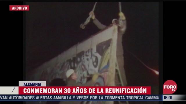 alemania celebra 30 aniversario de reunificacion