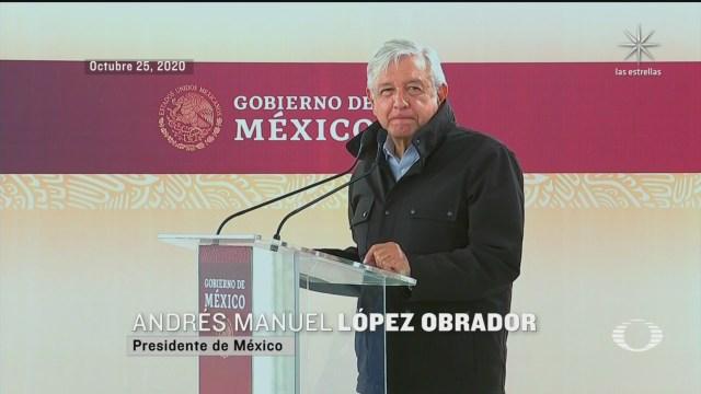 amlo acorta discurso en tamaulipas por protestas en su contra
