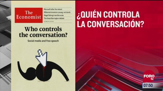 analisis de las portadas nacionales e internacionales del 23 de octubre del