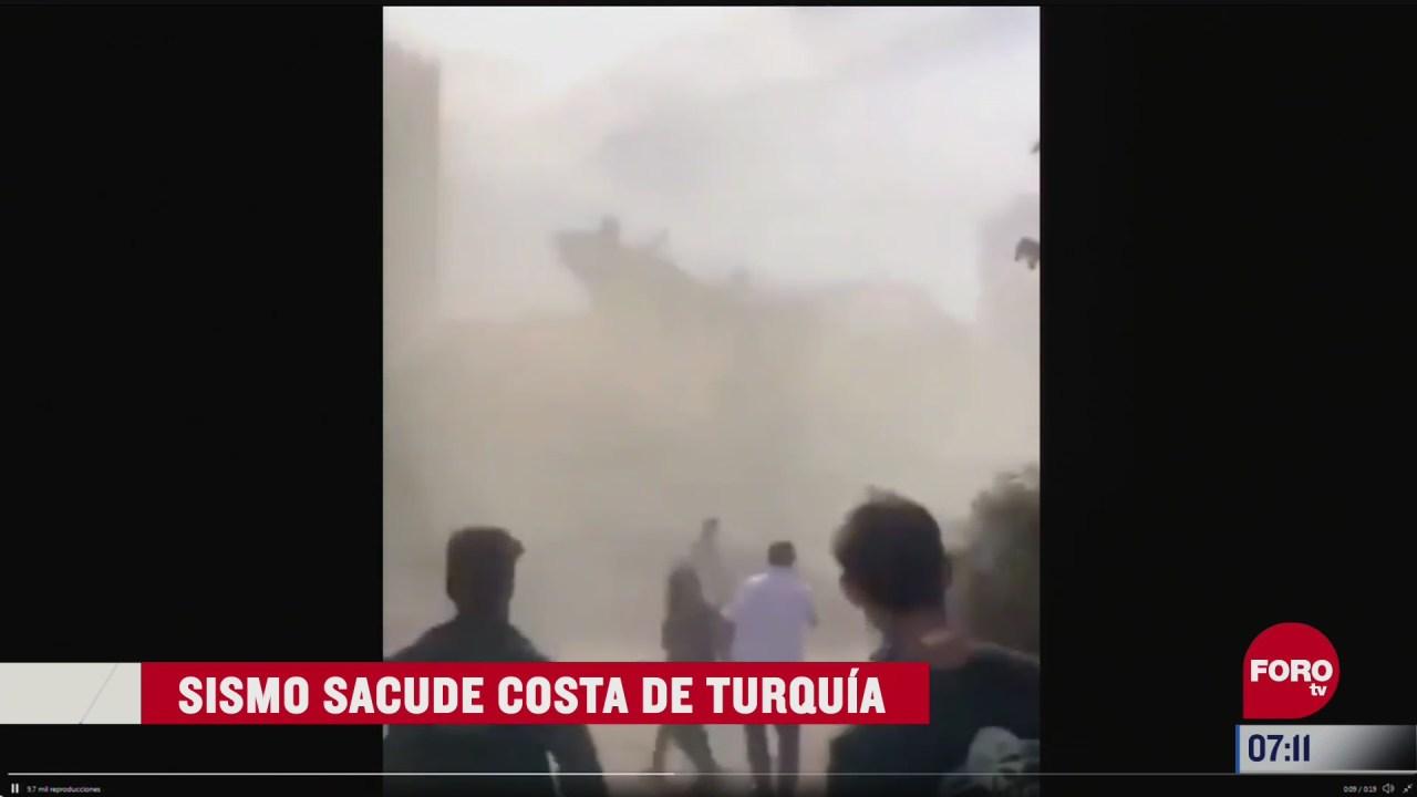asi fue el sismo de magnitud 7 en turquia
