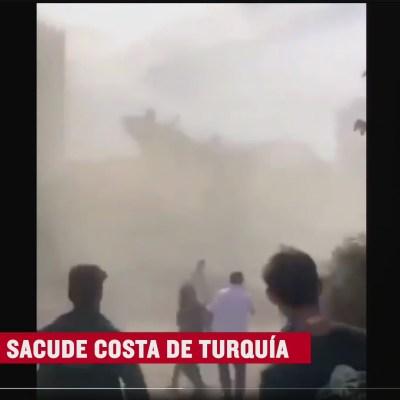 Así fue el sismo de magnitud 7 en Turquía