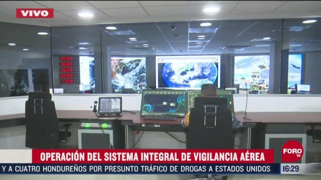 asi opera el sistema integral de vigilancia aerea de sedena