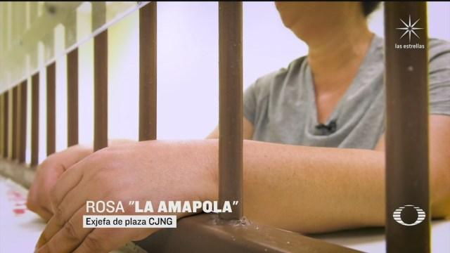 Mujeres detenidas por vínculos con el crimen organizado