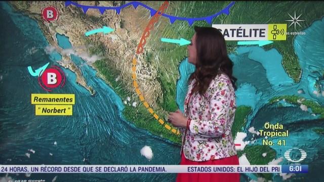 aumentan temperaturas en gran parte de mexico