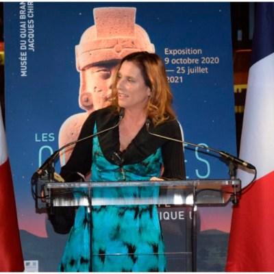 Beatriz Gutiérrez viaja a Europa por objetos arqueológicos que serán exhibidos en Bicentenario de la Independencia