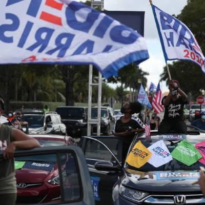 A tres días de las elecciones de Estados Unidos, Biden y Trump empatan en el estado clave de Florida