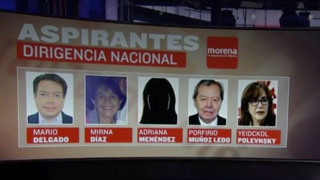 Dirigencia nacional de Morena se disputara entre cinco candidatos: INE