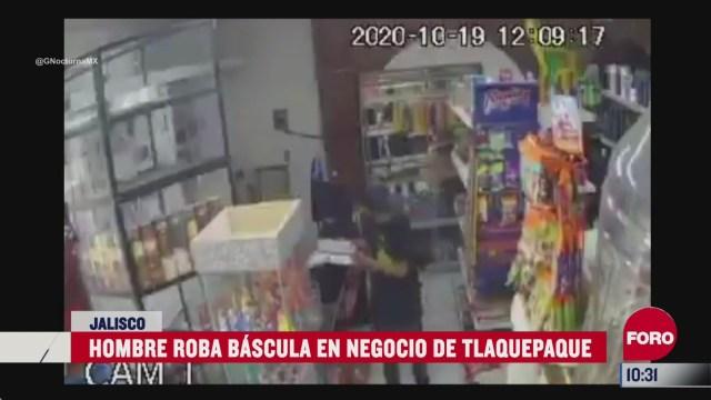 captan en video el robo a un negocio en jalisco